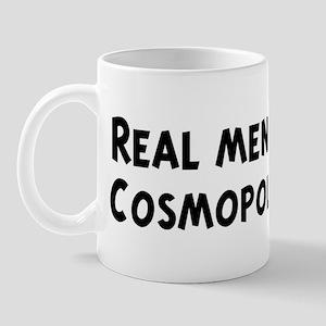 Men eat Cosmopolitan Mug