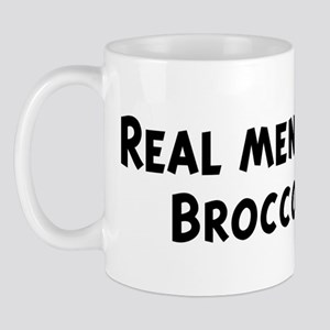 Men eat Broccoli Mug