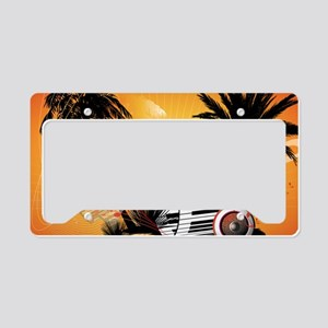 Music License Plate Holder