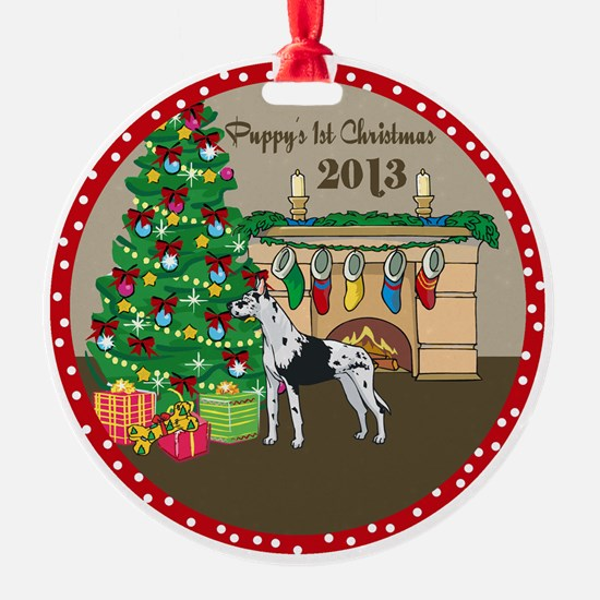 2013 Great Danes 1St Christmas Ornament