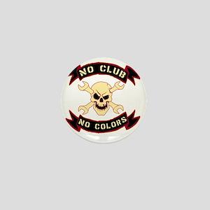 No colours no club Mini Button
