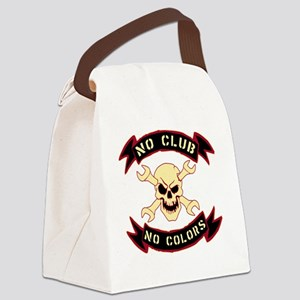 No colours no club Canvas Lunch Bag