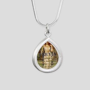Freyja Silver Teardrop Necklace