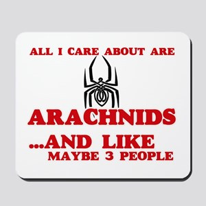 All I care about are Arachnids Mousepad