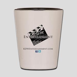 K.D.W. Entertainment  2013 Shot Glass