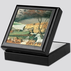 Noah's Ark by Edward Hicks Keepsake Box