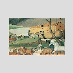 Noah's Ark by Edward Hicks Rectangle Magnet