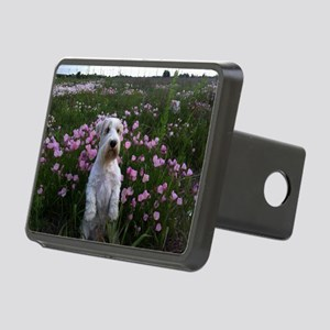 Sealy Sit Flowers Rectangular Hitch Cover