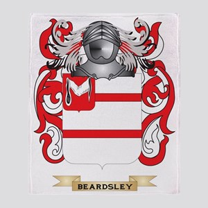 Beardsley Coat of Arms Throw Blanket
