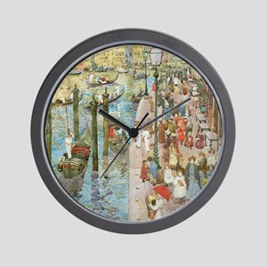 Grand Canal, Venice by Prendergast Wall Clock