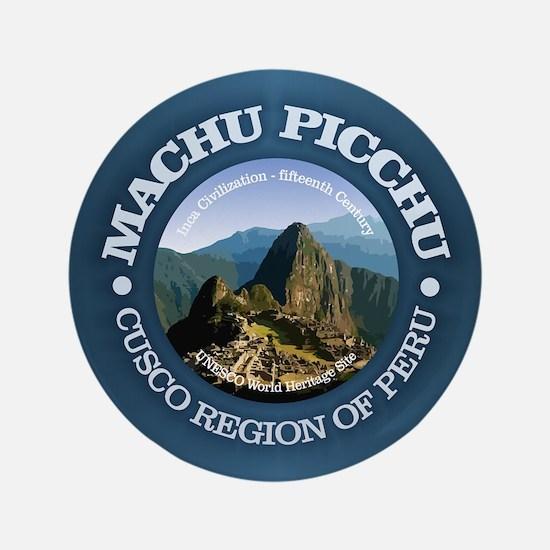 """Machu Picchu 3.5"""" Button"""