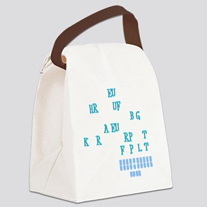 I heart court reporting Canvas Lunch Bag