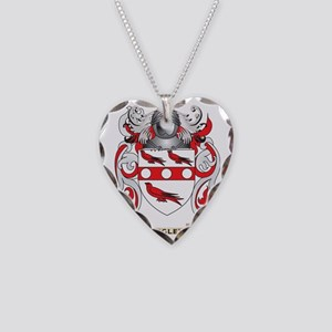 Begley Coat of Arms Necklace Heart Charm