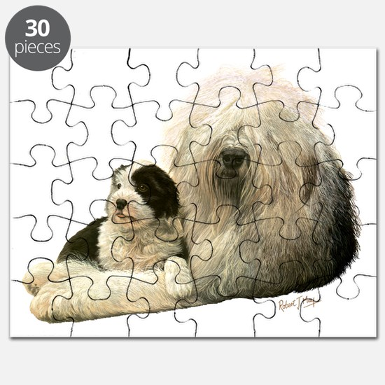 Old Eng and Pup Puzzle