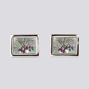 Connecticut Stray Cats in Tree by Lori A Cufflinks