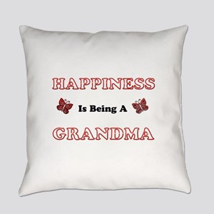Happiness Is Being A Grandma Everyday Pillow
