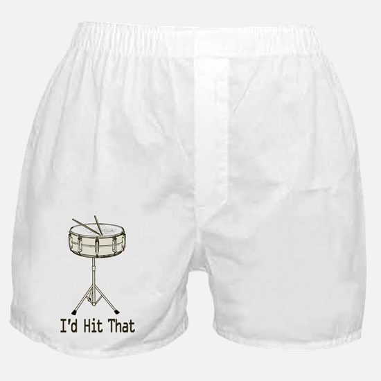 Id Hit That Snare Drum Boxer Shorts