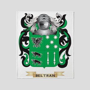 Beltran Coat of Arms Throw Blanket