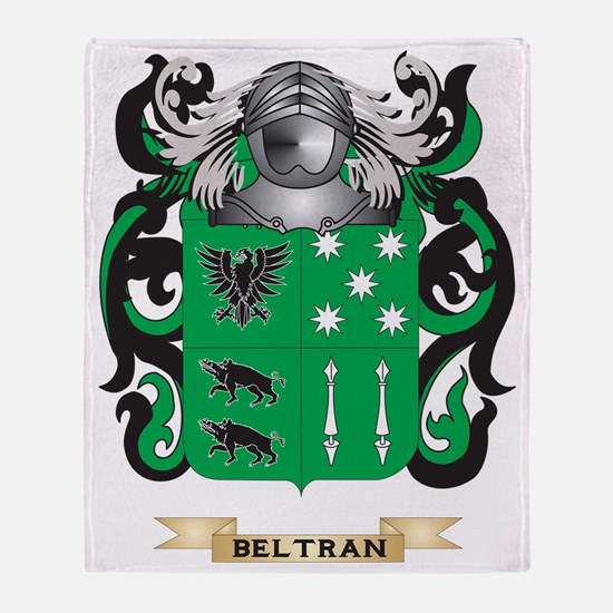 Beltran Coat of Arms Throw Blanket
