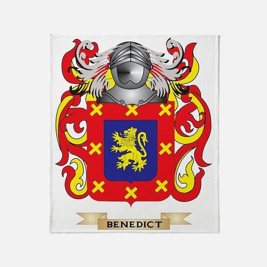 Benedict Coat of Arms Throw Blanket