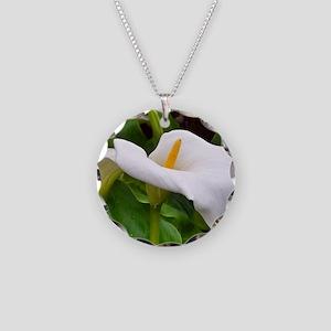 Blarney Castle flower, Irela Necklace Circle Charm