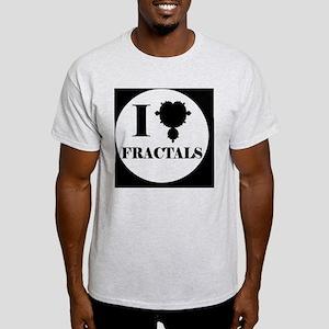 fractalsbutton Light T-Shirt