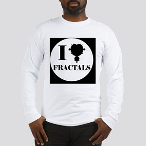 fractalsbutton Long Sleeve T-Shirt