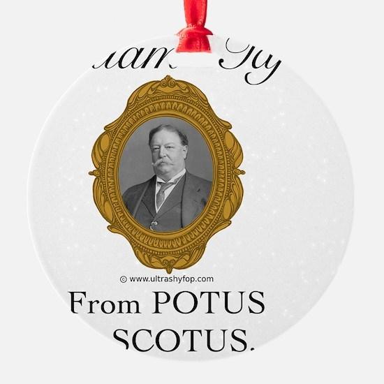 William Taft Ornament