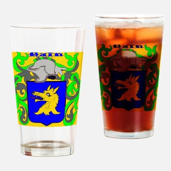 Postcard Drinking Glass