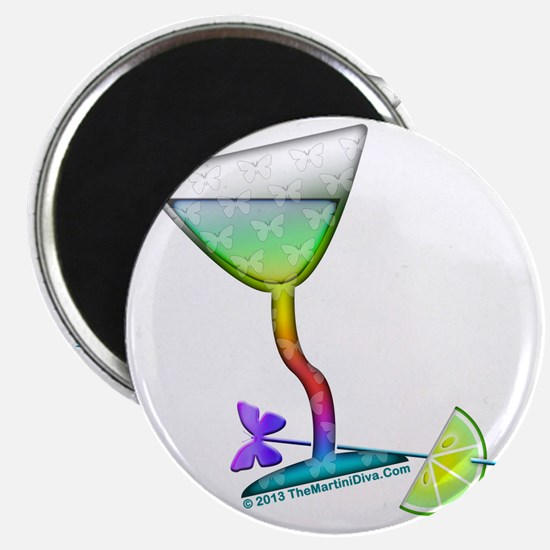 BUTTERFLY MARTINI Magnet