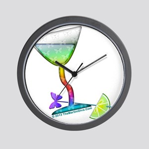 BUTTERFLY MARTINI Wall Clock