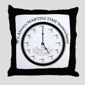 AlwaysMartiniTime Throw Pillow
