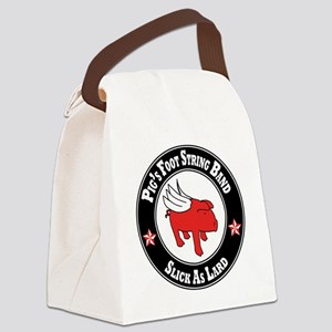Pigs Foot String Band - Red Pig Canvas Lunch Bag