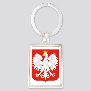 Polish Eagle Portrait Keychain