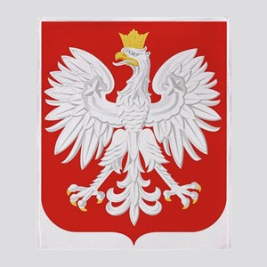 Polish Eagle Throw Blanket