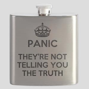 PANIC METAL Flask