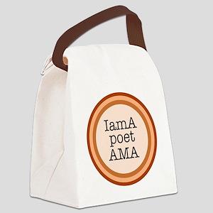 IamA poet AMA Canvas Lunch Bag