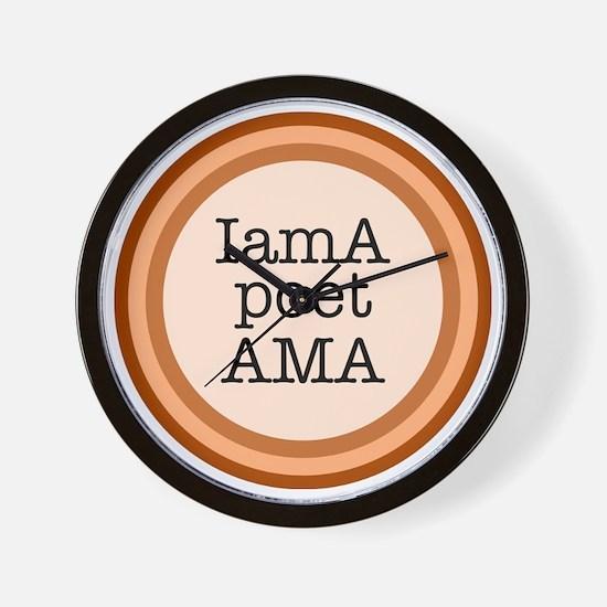 IamA poet AMA Wall Clock