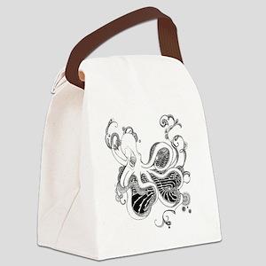 Kraken Canvas Lunch Bag