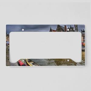 Charming Gent License Plate Holder