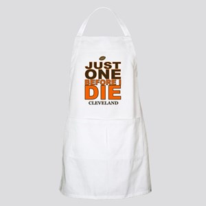 Just One Before I Die Cleveland Apron