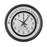 Its five o somewhere Giant Clocks