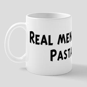 Men eat Pasta Mug