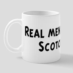 Men eat Scotch Mug