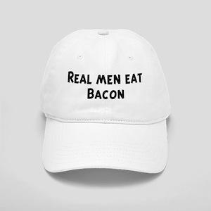 Men eat Bacon Cap
