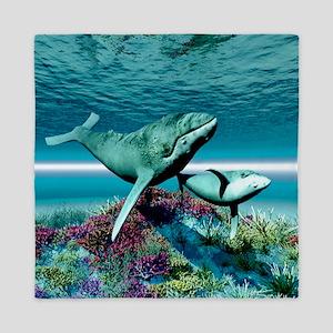 Humpback Whales Queen Duvet