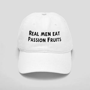 Men eat Passion Fruits Cap