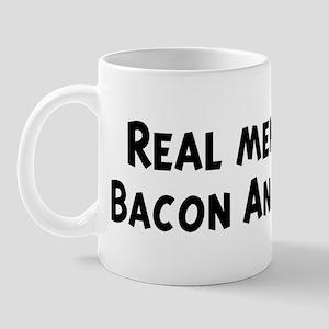 Men eat Bacon And Eggs Mug