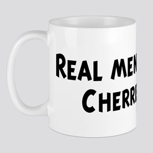Men eat Cherries Mug