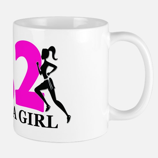 Run Like a Girl 26.2 Mug